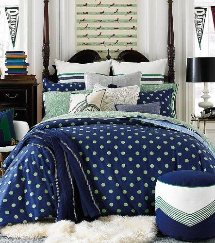 Green Polka Dots Bedding Bedding Decor Ideas