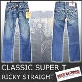 (トゥルーレリジョン)True Religion W74-78 RICKY STRAIGHT CLASSIC SUPER T デニム 5004 メンズ ジーンズ