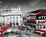 London Piccadilly Circus Photography Poster Print 16 by 20