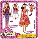Barbie hada y sirena puerta secreta