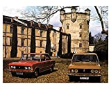 1976 Fiat Polski 125P Automobile Photo Poster