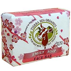 Tierra Mia Organics Tierra Mia Organics Raw Goat Milk Soap for Sensitive Skin 4.2 Ounce