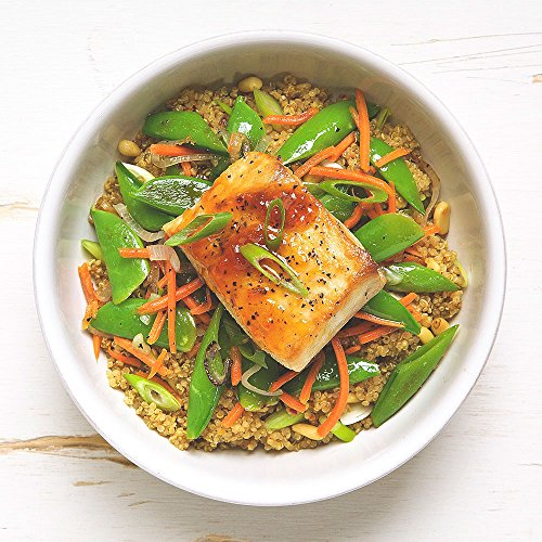 Apricot Glazed Mahi Mahi Bowl by Chef'd (Dinner for 2)