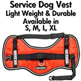 Service Dog Vest Harness - Light Weight But Durable - Available Sizes 17
