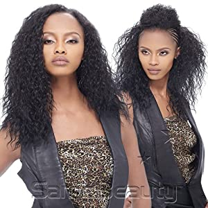 Human Hair Blend Weaving Outre Timeless All In One 4pc Super Wave (1)