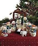 10-Pc. Inspirational Snowman Nativity Set Christmas Seasonal Holiday Decor