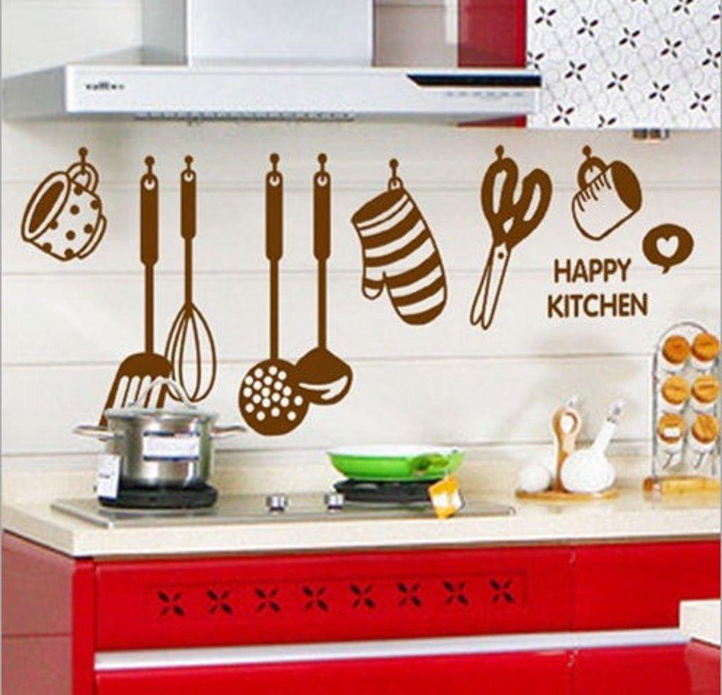'Stylish Kitchen' Wall Sticker