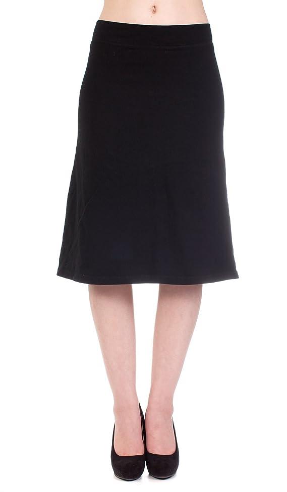 Hard Tail slim A-line skirt
