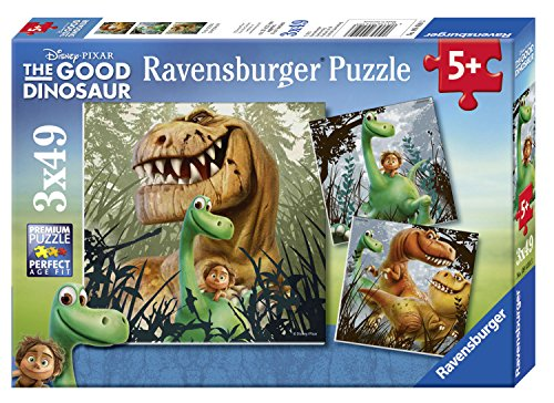 Ravensburger The Good Dinosaur: The Dino Gang 3 Puzzles in a Box (49 Piece) - 1