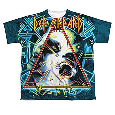 Def Leppard Hysteria All Over Youth Front T-Shirt