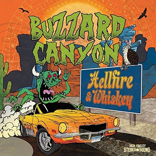 CD : Buzzard Canyon - Hellfire & Whiskey (United Kingdom - Import)