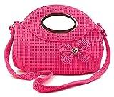 Chalissa Light Pink Bow Tie Sling Bag