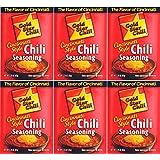 6 Pack, Gold Star Cincinnati Style Original Chili Seasoning