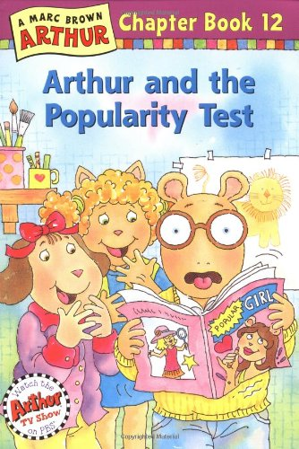 Arthur And The Popularity Test: An Arthur Chapter Book (Marc Brown Arthur Chapter Books)