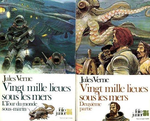 Vingt mille lieues sous les mers (2 volumes)