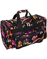 "20"" Print Carry-On Duffel Bag"