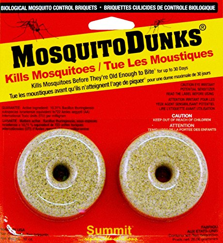 Mosquito dunks 102 12 mosquito killer 2 pack home garden for Mosquito fish for sale
