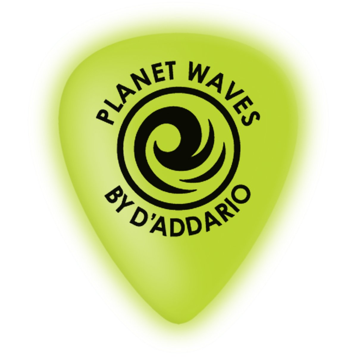 Planet Waves Cellu-Glow Guitar Picks, Extra-Heavy, 10 pack planet waves 1dpr6 100 duralin picks heavy