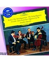 "Brahms: The String Quartets / Dvorak: ""Amerikanisches"" Quartett Op.96 (2 CDs)"