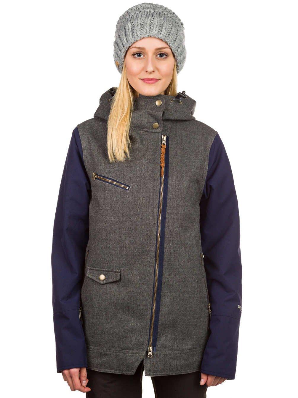 Damen Snowboard Jacke Holden Moto Jacket günstig
