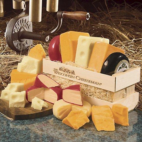 Wisconsin Cheeseman Cheese Crate Gift Assortment