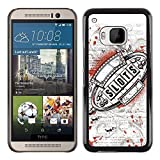 LASTONE PHONE CASE Slim Design Hard PCAluminum Shell Case Cover for HTC One M9 Casino Slots Machine Grunge