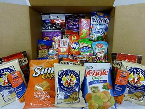 Healthy Snacks Gift Box, College Dorm, Breakroom,