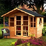 OXFORD: 10FT x 8FT WESSEX SUMMERHOUSE (12mm T&G Floor)