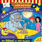 Mondgeschichten (Benjamin Blümchen Gute-Nacht-Geschichten 17) | Vincent Andreas