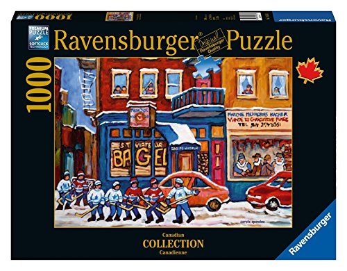 Ravensburger St. Viateur Bagel&Hockey Canadian Collection Canadienne Puzzle (1000-Piece) (Ravensburger Canada compare prices)