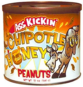 Ass Kickin Chipotle Honey Peanuts - Sweet As The Southwest Itself A Perfect Blend Of Honey And Chipotle Seasoning Make This A Taste Like No Other by Southwest Specialty Foods Inc.