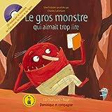 echange, troc Lili Chartrand - Le gros monstre qui aimait trop lire (1CD audio)
