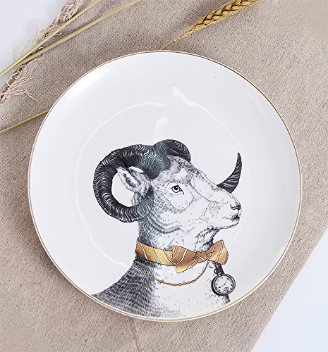 weian-lovely-bone-china-occidentale-cibo-gentleman-antelope