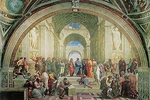 Amazon.com: 40W x 27H The School Of Athens by Raffaello Sanzio