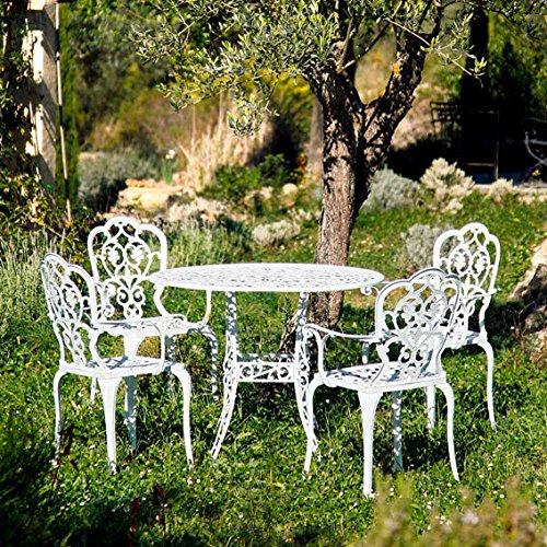 Gärtner Pötschke Sitzgruppe Chateau de Loire, 4 Stühle + Tisch