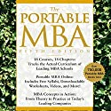 The Portable MBA (       UNABRIDGED) by Kenneth M. Eades, Timothy M. Laseter, Ian Skurnik, Peter L. Rodriguez, Lynn A. Isabella, Paul J. Simko Narrated by Adam Hanin