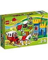 Lego Duplo Legoville-thème Chevalier - 10569 - Jeu De Construction - L'attaque Du Trésor