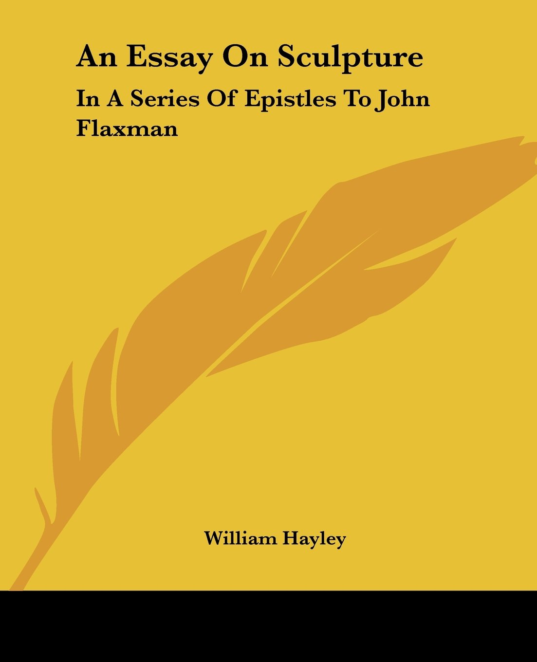 john flaxman com an essay on sculpture in a series of epistles to john flaxman