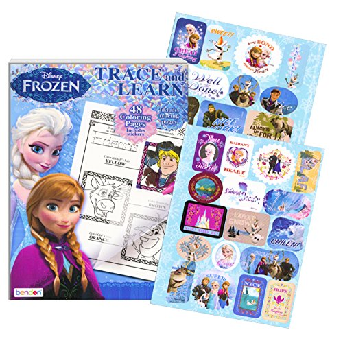 Trace and Learn Activity Book with Stickers