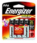 Energizer MAX AA Batteries, Designed...