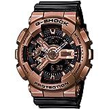 Casio - G-Shock - Big Case Series - Black / Rose Gold - GA110GD-9B2