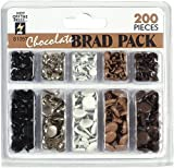 HOTP Brad Pack 200/Pkg Chocolate