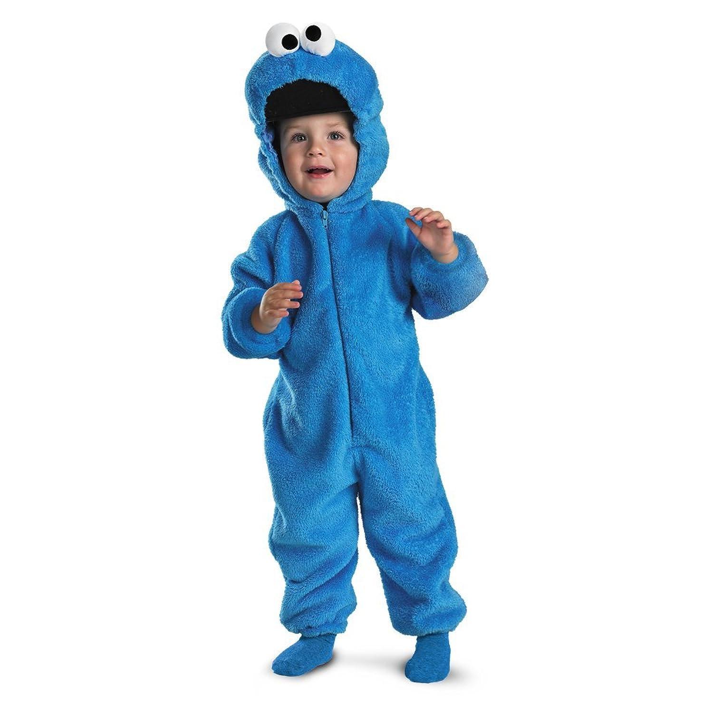 Deluxe Cookie Monster Costume Cookie Monster Deluxe