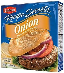 Lipton Recipe Secrets Recipe Soup & Dip Mix, Onion 2 oz  pack of 6