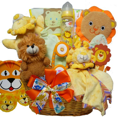 Art of Appreciation Gift Baskets Cuddly, Cuddly Cub New Baby Gift Basket, Boy