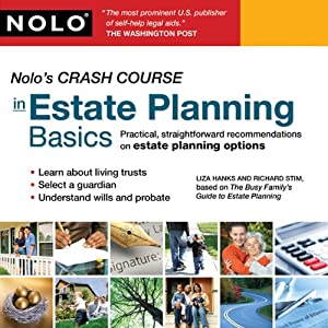 Nolo's Crash Course in Estate Planning Basics Audiobook