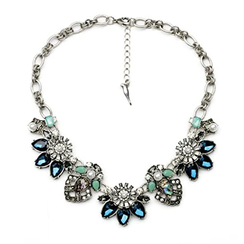 This is on my Wish List: Fit&Wit Rhinestone Crystal Reasin Statement Fashion Necklace: Jewelry