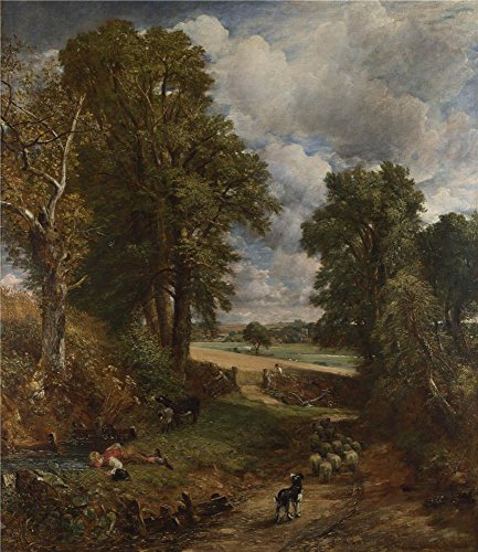 The High Quality Polyster Canvas Of Oil Painting 'John Constable The Cornfield ' ,size: 18 X 21 Inch / 46 X 53 Cm ,this Reproductions Art Decorative Canvas Prints Is Fit For Study Decoration And Home Gallery Art And Gifts
