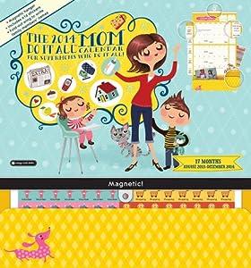 Orange Circle Studio 2014 Do It All Wall Calendar, Do It All Mom (15535)