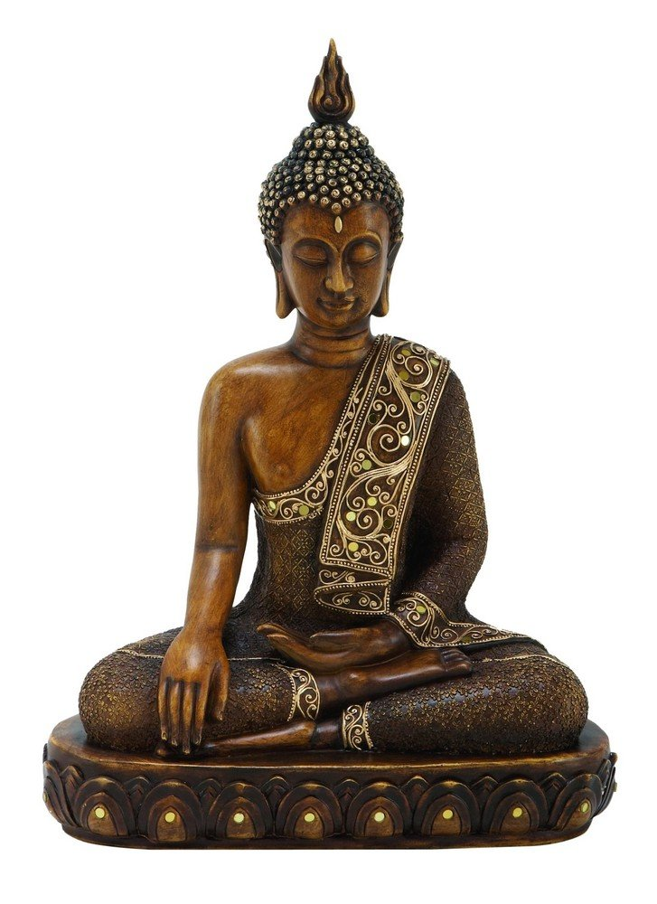 Buddha Earth Touching Mudra Statue